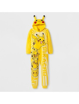 Boys' Pokemon Pikachu Union Suit   Yellow by Pokemon