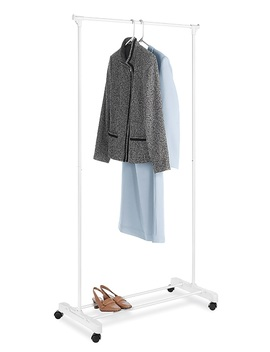 Essential Home Rolling Garment Rack Essential Home Rolling Garment Rack by Kmart