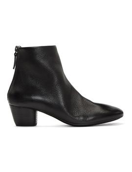 Black Coltello 65 Boots by MarsÈll
