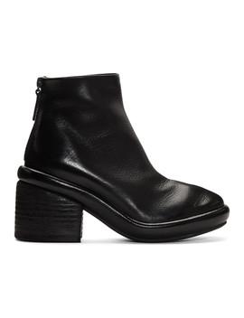 Black Salvagente Boots by MarsÈll
