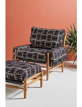 Onyx Rhys Chair by Anthropologie