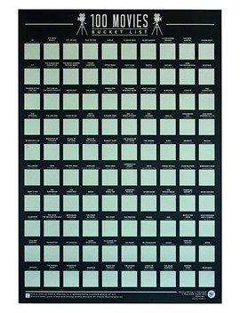 Unbekannt Gift Republic 100Filme–Abkratzen Eimer Liste Poster, Schwarz by Amazon