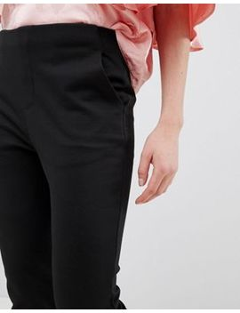 Asos Design Petite Basic Jersey Smart Skinny Trousers by Asos Design