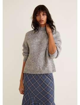 Sweter Z Dzianiny by Mango