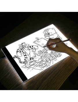 A4 Led Tracing Light Box Tracer Ultra Thin Usb Powered Portable Led Artcraft Tracing Light Pad Light Box For Artists Drawing Sketching by Goodg