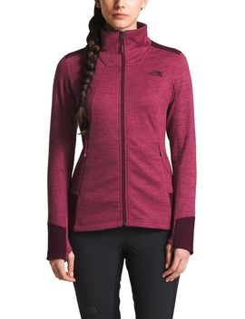 The North Face Women's Shastina Stretch Full Zip Fleece Jacket by The North Face
