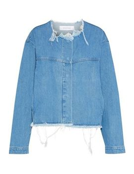 Distressed Denim Jacket by Marques' Almeida
