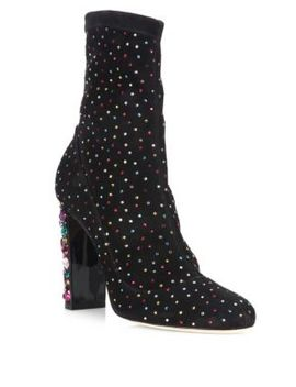 Maine Embellished Boots by Jimmy Choo