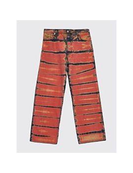 Eckhaus Latta Wide Leg El Jeans Shibori Dye by Très Bien
