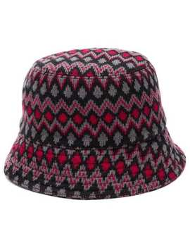 Geometric Knit Hat by Prada