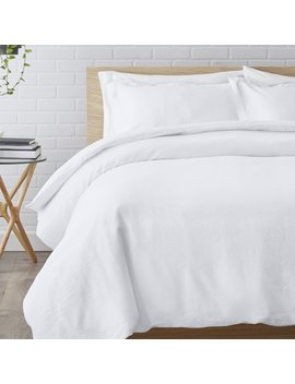 Birch Lane™ Bernadette Linen Reversible Duvet Cover Set & Reviews by Birch Lane™