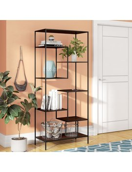 Latitude Run Eseli Etagere Bookcase & Reviews by Latitude Run