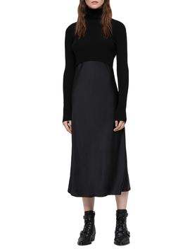 Kowlo Two Piece Sweater & Slipdress by Allsaints