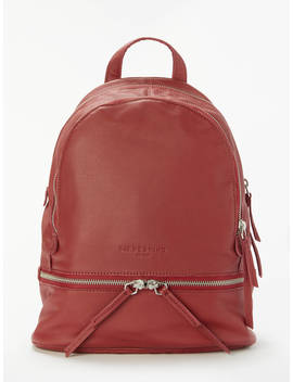Liebeskind Berlin Lotta Leather Backpack, Phonebox Red by Liebeskind Berlin