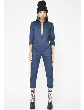 Fly Girl Cargo Jumpsuit by Vintage Shop