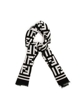 Maxi Ff Scarf by Fendi