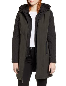 Quilted Sleeve Coat by Michael Michael Kors
