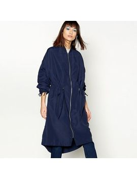H! By Henry Holland   Navy Lightweight Parka Jacket by H! By Henry Holland