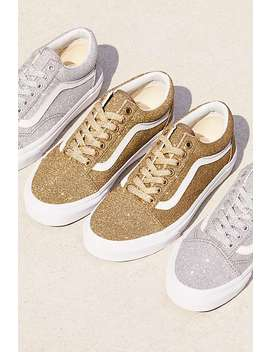 Old Skool Lux Glitter Sneaker by Free People