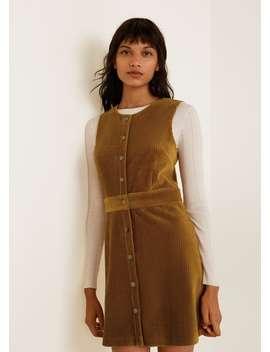 Corduroy Dress by Mango