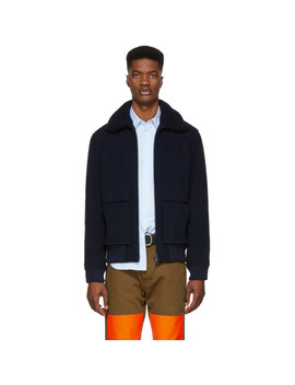 Navy Bronze Jacket by A.P.C.