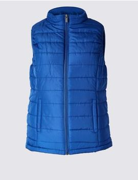 Padded & Quilted Gilet by Marks & Spencer