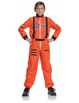 Underwraps Children's Astronaut Costume   Orange, Large (10 12) by Underwraps