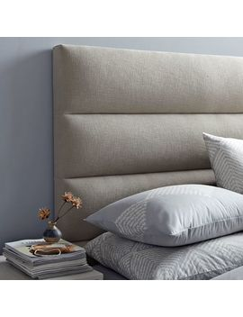Panel Tufted Headboard by West Elm