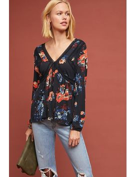 Riley Floral Top by Maeve