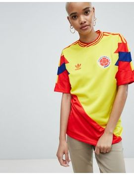 Adidas   Originals   Maillot De Football Colombie by Asos Fr