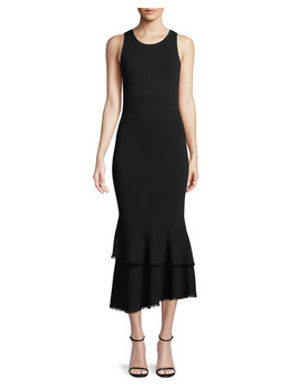 Nilimary Prosecco Knit Midi Dress by Theory