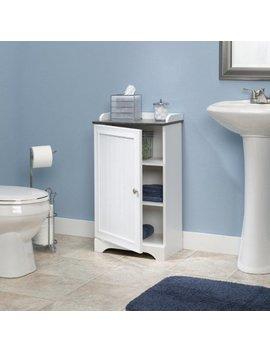Sauder Caraway Floor Cabinet, Soft White by Sauder
