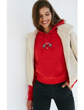 La Hearts Cropped Pullover Sweatshirt by Pacsun