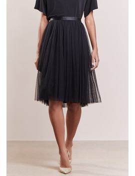Tulle Midi Skirt   A Linien Rock by Needle & Thread