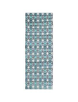 Montauk Turquoise/Multi 2 Ft. X 6 Ft. Runner Rug by Safavieh
