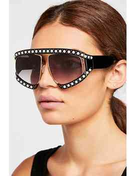 Ellie Embellished Sunglasses by Free People