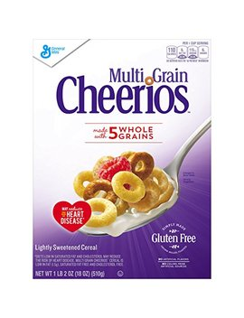 Multi Grain Cheerios, 18 Ounce (Pack Of 8) by Cheerios
