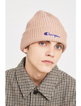 Champion Script Rose Beanie by Champion