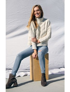 Raga Madeline Mock Neck Sweater by Pacsun