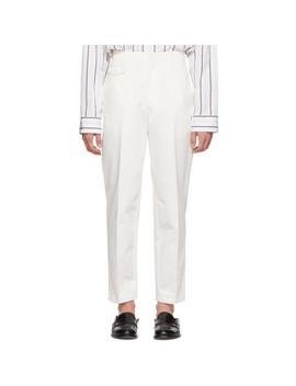 Pantalon Chinos Blanc by Lemaire