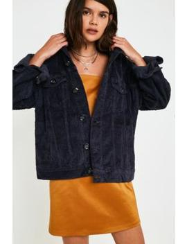 Uo Navy Jumbo Corduroy Jacket by Urban Outfitters