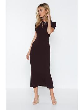 Come A Long Way Midi Dress by Nasty Gal