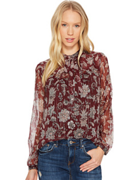 Tie Neck Top by Lucky Brand