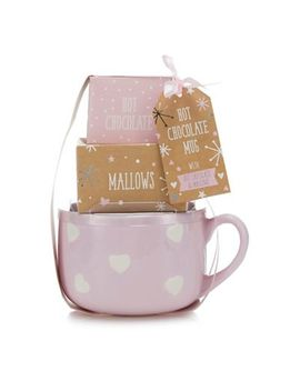 Debenhams   Hot Chocolate Bowl Mug Set by Debenhams