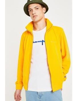 Champion Yellow Velour Track Top by Champion