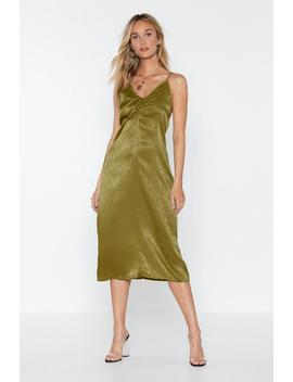 Knot Yours Midi Dress by Nasty Gal