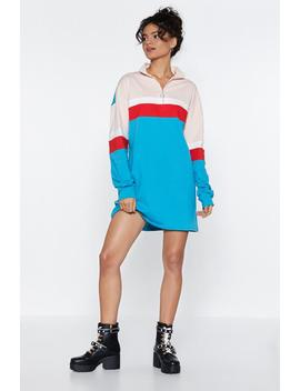 It's A Sport Of Mine Sweater Dress by Nasty Gal