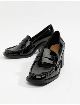 Asos Design Taxon Heeled Loafers by Asos Design