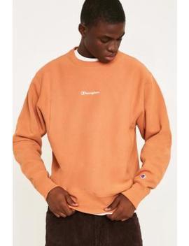 Champion X Uo Cedar Reverse Weave Crew Neck Sweatshirt by Champion