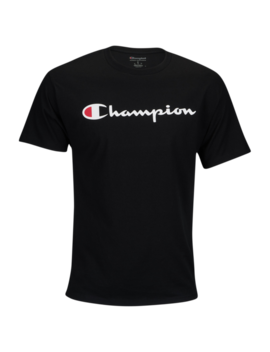 Champion Cotton Script Logo T Shirt by Foot Locker